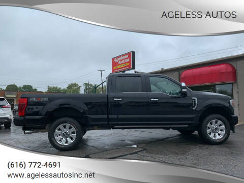 2021 Ford F-250 Super Duty for sale at Ageless Autos in Zeeland MI
