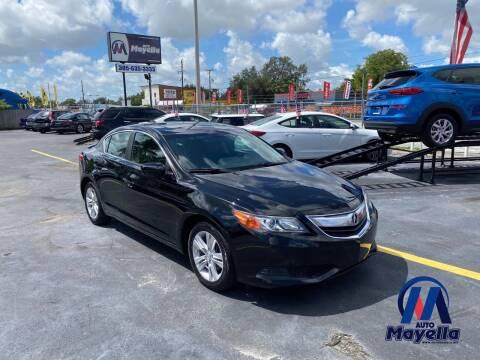 2013 Acura ILX for sale at Auto Mayella in Miami FL