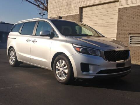 2016 Kia Sedona for sale at AUTOMOTIVE SOLUTIONS in Salt Lake City UT