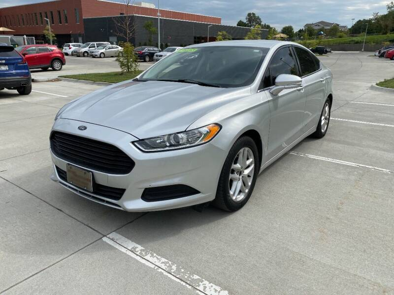 2014 Ford Fusion for sale at BIG O MOTORS LLC in Omaha NE