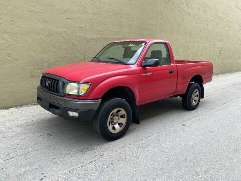 2002 Toyota Tacoma for sale at My Car Inc in Hialeah Gardens FL