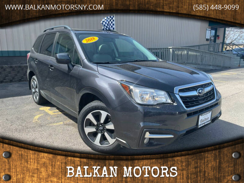 2018 Subaru Forester for sale at BALKAN MOTORS in East Rochester NY