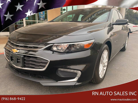 2016 Chevrolet Malibu for sale at RN Auto Sales Inc in Sacramento CA