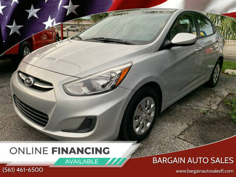 2016 Hyundai Accent for sale at Bargain Auto Sales in West Palm Beach FL