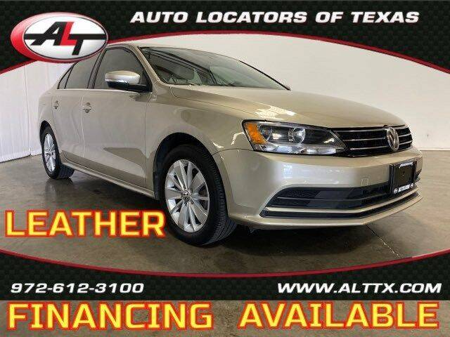 2016 Volkswagen Jetta for sale at AUTO LOCATORS OF TEXAS in Plano TX
