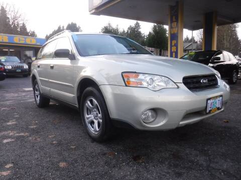 2007 Subaru Outback for sale at Brooks Motor Company, Inc in Milwaukie OR