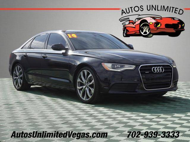 2014 Audi A6 for sale at Autos Unlimited in Las Vegas NV