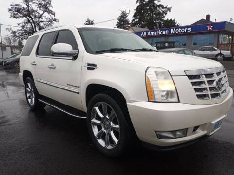 2007 Cadillac Escalade for sale at All American Motors in Tacoma WA