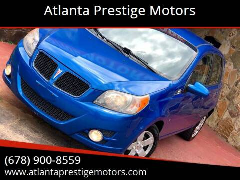 2009 Pontiac G3 for sale at Atlanta Prestige Motors in Decatur GA