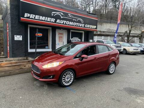 2015 Ford Fiesta for sale at Premier Automotive Group in Pittsburgh PA