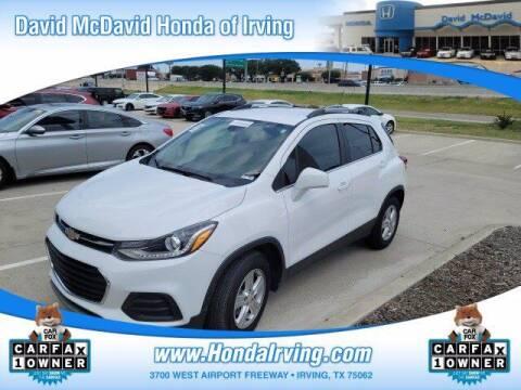 2020 Chevrolet Trax for sale at DAVID McDAVID HONDA OF IRVING in Irving TX