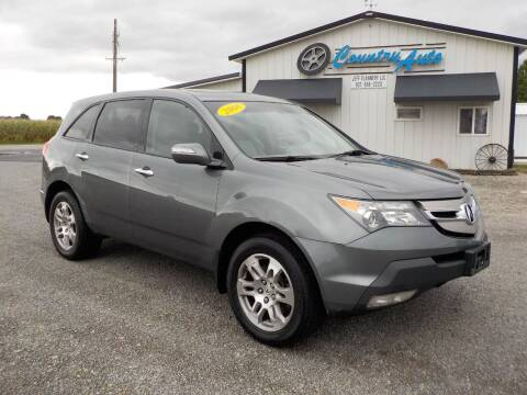 2008 Acura MDX for sale at Country Auto in Huntsville OH