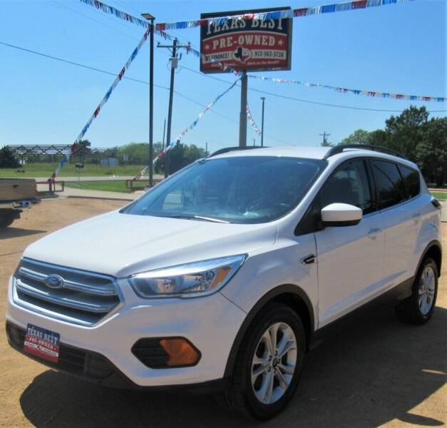 2018 Ford Escape for sale in Terrell, TX