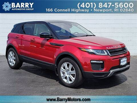 2018 Land Rover Range Rover Evoque for sale at BARRYS Auto Group Inc in Newport RI