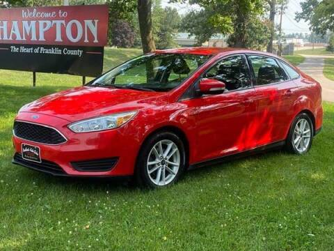 2015 Ford Focus for sale at BROTHERS AUTO SALES in Hampton IA