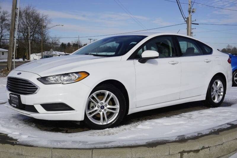 2018 Ford Fusion for sale at Platinum Motors LLC in Heath OH