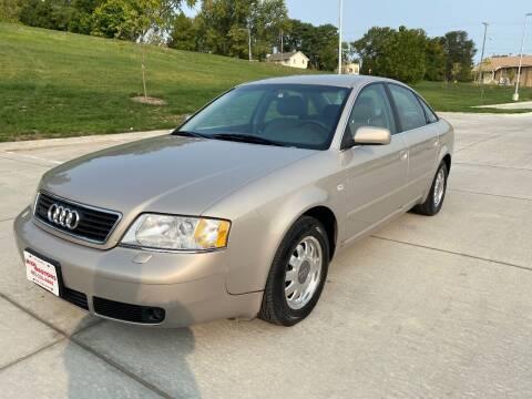 1999 Audi A6 for sale at BIG O MOTORS LLC in Omaha NE