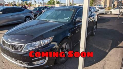 2013 Kia Optima Hybrid for sale at USA Auto Inc in Mesa AZ