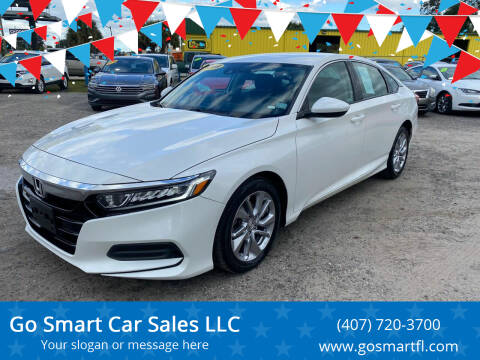 2019 Honda Accord for sale at Go Smart Car Sales LLC in Winter Garden FL