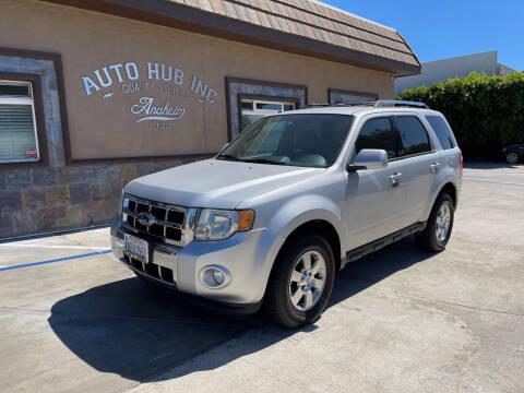 2012 Ford Escape for sale at Auto Hub, Inc. in Anaheim CA