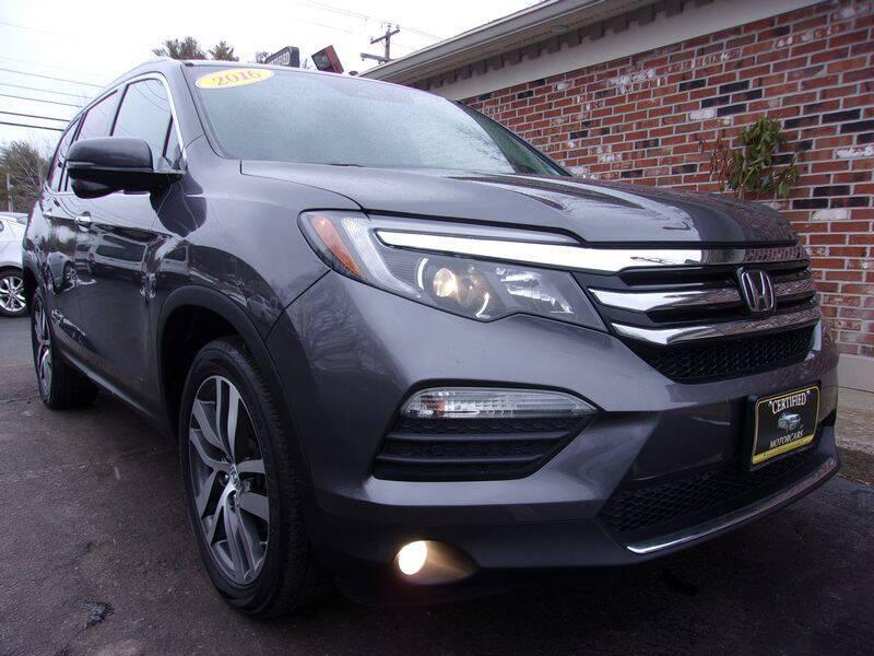 2016 Honda Pilot for sale at Certified Motorcars LLC in Franklin NH