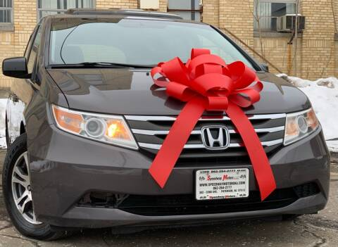 2013 Honda Odyssey for sale at Speedway Motors in Paterson NJ