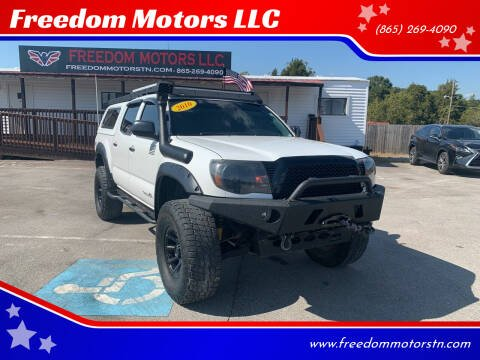 2010 Toyota Tacoma for sale at Freedom Motors LLC in Knoxville TN