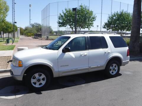2002 Ford Explorer for sale at J & E Auto Sales in Phoenix AZ