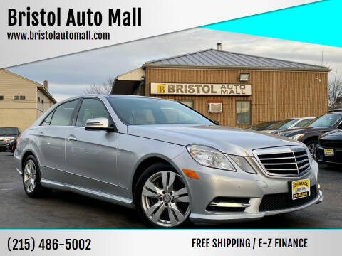 2013 Mercedes-Benz E-Class for sale at Bristol Auto Mall in Levittown PA