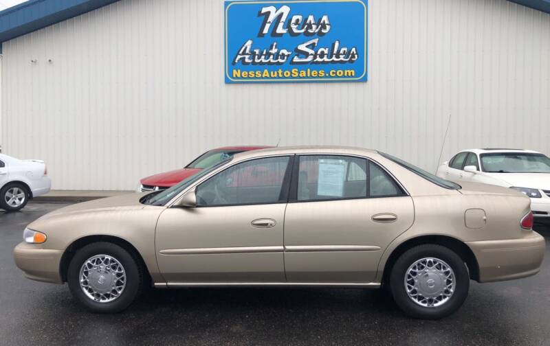 2005 Buick Century for sale at NESS AUTO SALES in West Fargo ND