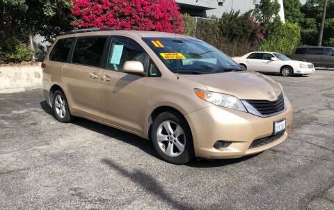 2011 Toyota Sienna for sale at Eden Motor Group in Los Angeles CA