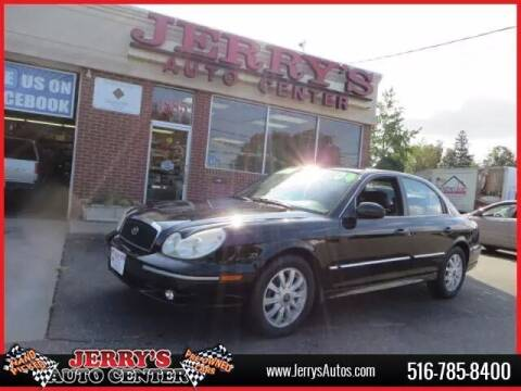 2004 Hyundai Sonata for sale at JERRY'S AUTO CENTER in Bellmore NY