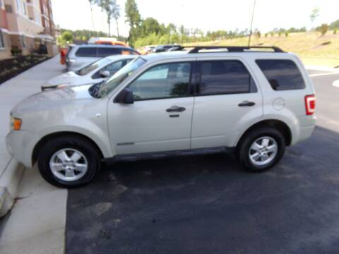 2008 Ford Escape for sale at West End Auto Sales LLC in Richmond VA