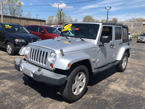 2009 Jeep Wrangler Unlimited for sale at Smart Buy Auto in Bradley IL