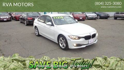 2014 BMW 3 Series for sale at RVA MOTORS in Richmond VA