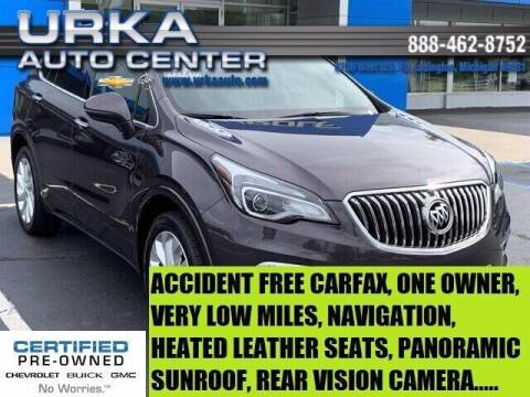 2017 Buick Envision for sale at Urka Auto Center in Ludington MI