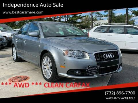 2008 Audi A4 for sale at Independence Auto Sale in Bordentown NJ