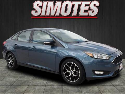 2018 Ford Focus for sale at SIMOTES MOTORS in Minooka IL