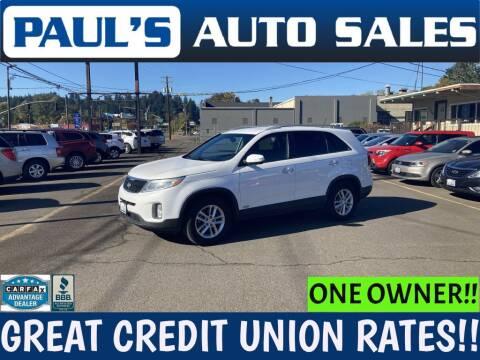 2015 Kia Sorento for sale at Paul's Auto Sales in Eugene OR