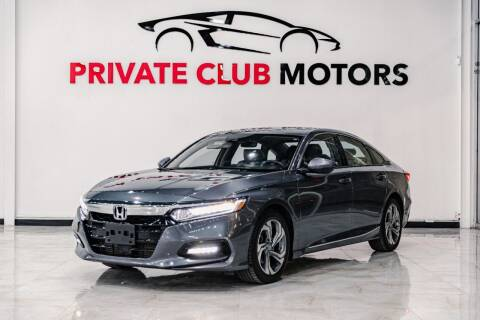 2018 Honda Accord for sale at Private Club Motors in Houston TX