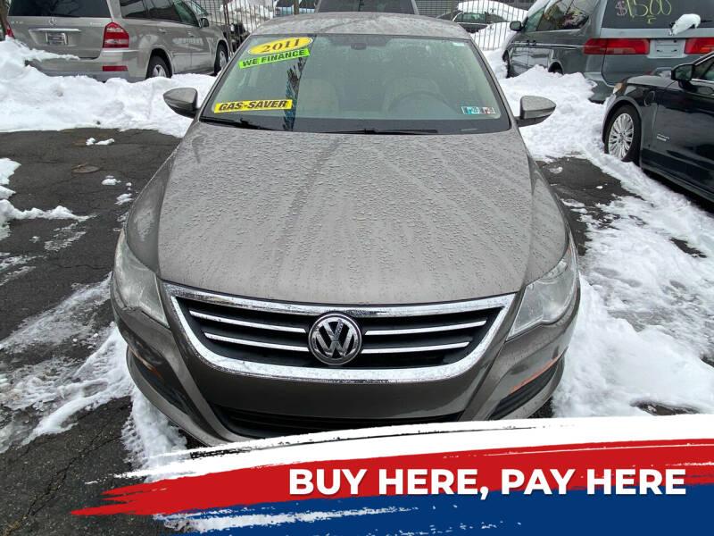 2011 Volkswagen CC for sale at Rallye  Motors inc. in Newark NJ