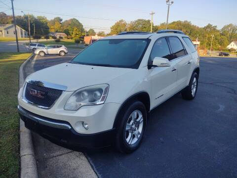 2008 GMC Acadia for sale at Ray Moore Auto Sales in Graham NC