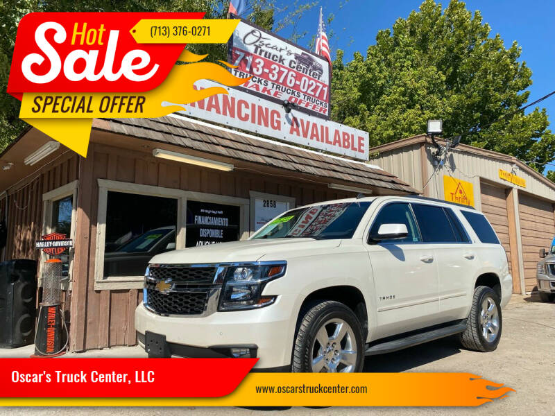 2015 Chevrolet Tahoe for sale at Oscar's Truck Center, LLC in Houston TX