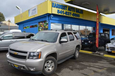 2008 Chevrolet Tahoe for sale at Earnest Auto Sales in Roseburg OR