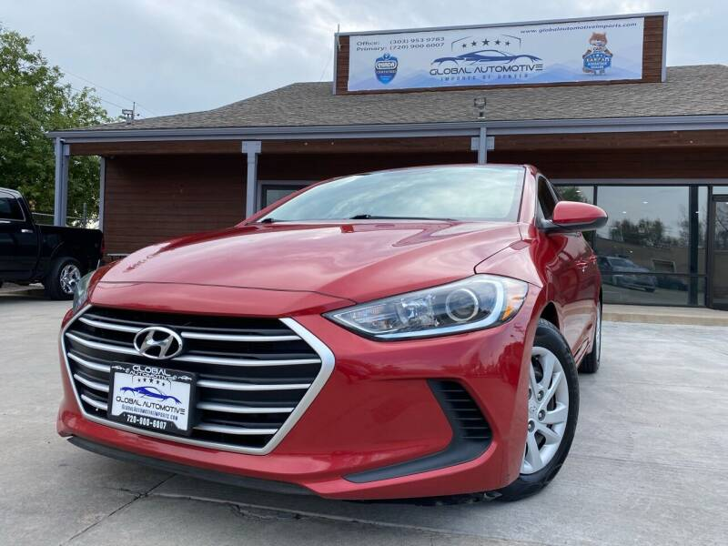 2017 Hyundai Elantra for sale at Global Automotive Imports of Denver in Denver CO