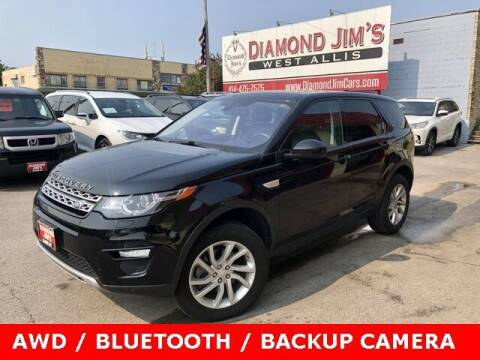 2019 Land Rover Discovery Sport for sale at Diamond Jim's West Allis in West Allis WI
