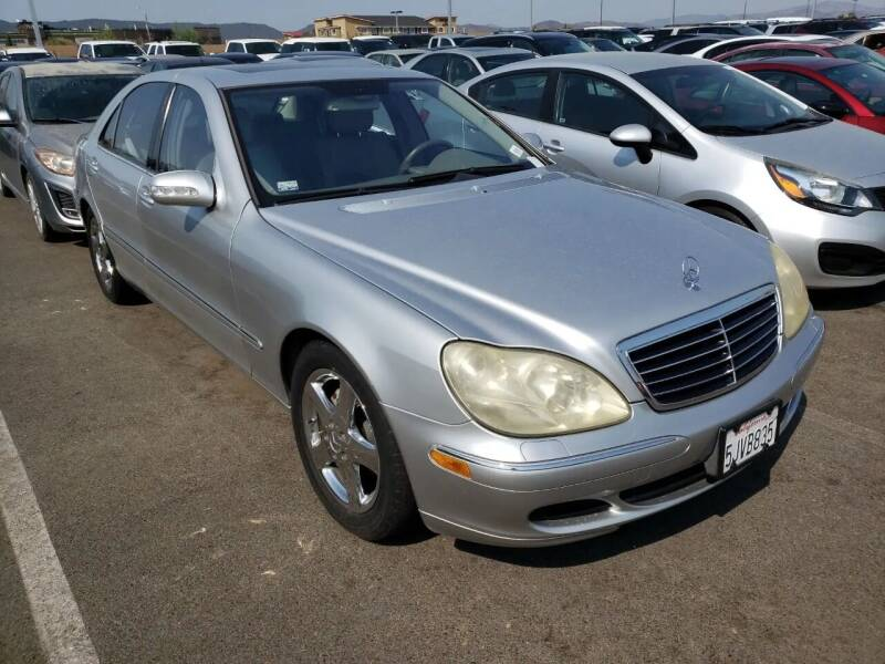 2004 Mercedes-Benz S-Class for sale at MCHENRY AUTO SALES in Modesto CA