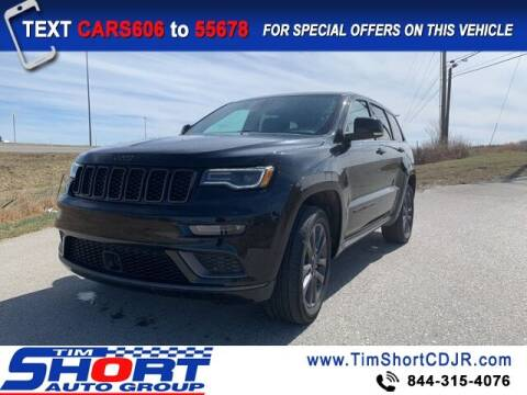 2018 Jeep Grand Cherokee for sale at Tim Short Chrysler in Morehead KY