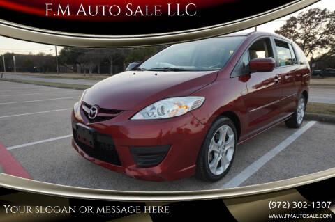2009 Mazda MAZDA5 for sale at F.M Auto Sale LLC in Dallas TX