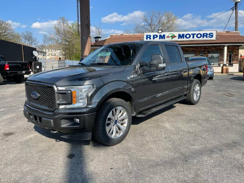 2018 Ford F-150 for sale at RPM Motors in Nashville TN